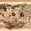切り絵作家・大橋忍 個展「白蝋の灯火に告ぐる」(デザインフェスタギャラリーWEST)