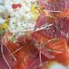 サイゼリヤのオリーブオイルで、海鮮ライスサラダをつくりました!^^