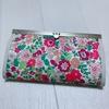 リバティで作る直線口金の長財布