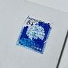 オシャレな紫陽花のシール式切手