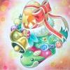 【塗るパズドラ】プレゼントBOXメイキングpart4 プリズマカラー使用