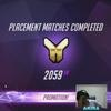 Overwatch: プレースメントマッチ終了