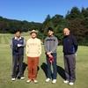 多摩カントリークラブでゴルフを堪能。