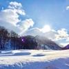まだ雪残る福島へ。