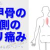 『痛みの整体辞典vol.2』 肩甲骨の間(背中)の痛み、セルフ整体