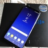【Galaxy】SIMフリー版「Galaxy S8+(Plus) Dual SIM G955FD」を購入♪新しさを感じるスマホです♪【開封の儀】