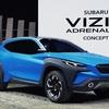 ● スバル 次期型「XV」か? 「ヴィジヴ アドレナリン コンセプト」を初公開 【ジュネーブモーターショー2019】