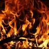 私は子供の頃、家のお風呂を薪で焚いていた。
