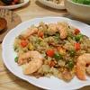 簡単!!冷凍ご飯でパラパラ即席 海老ピラフの作り方/レシピ