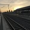 寒い空と暖かい電車
