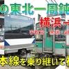 東北本線を乗り継いで横浜から福島へ! 怒涛の乗り換え回数に隠された歴史【2020-08北東パス東北一周1】