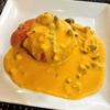 秋だけの限定かぼちゃメニュー!西池袋GARAスパイスレストランで北海道のぼっちゃんかぼちゃを使ったパンプキンココナッツカレー。器ごと食べられます!