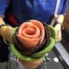 韓国・明洞「Milky Bee」の「薔薇アイスクリーム」