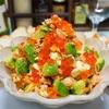 【レシピ】焼き鮭とアボカドクリームチーズのブルスケッタ