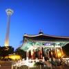 プサン旅行最終日―巨大健康ランドと釜山タワー