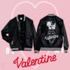 BE MY Valentine スタジアムジャンパー のこだわりポイントやサイズ詳細