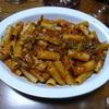 マイタケのパスタ⑤大皿ごちそうパスタ