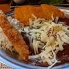 東京都秋葉原 チキンカツカレー+チーズ+エビフライ+タルタルソース