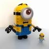 レゴ ミニオンズ:LEGO 75551 レビュー その1 スチュアートの目がクルクル!