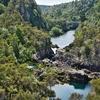 「アラティアティア ラピッズ(Aratiatia Rapid) 」~ ダムからの放流前の光景