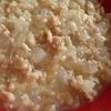 ホボトリゾット・・鶏肉:大根:発芽玄米を4:4:1