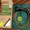 【機材レビュー】ベース用シールドKAMINARI Electric Bass Cable【カミナリベースケーブル】