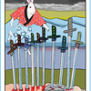 死に値する悲しみ かちかち山の10番 日本昔話タロット