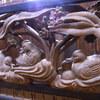 【水鳥の欄間がお気に入り】古城好きのきっかけとなった国内で唯一本丸現存の元国宝の城と像と日曜市:高知城(高知県高知市)