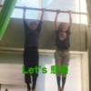 基本の懸垂!筋肉女子で筋トレyoutube動画を撮りました。