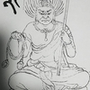 牛頭天王プラス歳徳神の香合仏を企画中 (上願寺)
