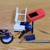 SG90-HV 連続回転サーボ で 倒立振子は難しい・・・?