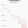 保有しているビットコインの価値が下がり続けています。
