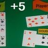 カードカウンティング2ボックス+5で5倍賭け