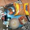 MSR WindBurnerでキャンプ飯を作る!-マカロニトマトソース