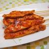 胸肉の韓国式甘辛焼き鳥 焼き鳥レシピ