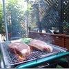 夏の終わり?の自宅BBQ