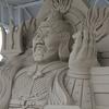 三が日にのと千里浜で砂像を拝む