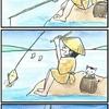 『ほら、ここにも猫』・第168話 「釣り人」