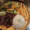 池袋肉バル中町/ハラミステーキプレート