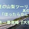 初夏の山梨ツーリング 其の③ これぞ絶景・至福の時 「ほったらかし温泉あっちの湯」& 日本一高所車道峠『大弛峠』へ ❣ ブログ&動画