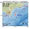 2016年12月06日 18時45分 十勝沖でM2.6の地震