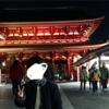 【浅草寺】ライトアップされた夜のお散歩もおすすめ❤︎