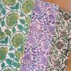 タッサーシルクの半巾帯