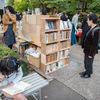 しのばずくんの本の縁日へお出かけ。本と散歩が似合う街、不忍ブックストリート谷根千の養源寺にて。