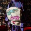 NEW 唐獅子牡丹 刺繍帯
