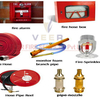 Different fire fighting equipments and their uses
