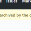 メンテしてない GitHub リポジトリをアーカイブした
