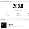 夕暮れ時の60分走リベンジ 目標は長くゆっくり走りきる
