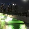 夜ランニングも寒くない季節になりました〜有明北橋・豊洲大橋・レインボーブリッジ〜