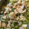 鶏肉とゴーヤの味噌煮